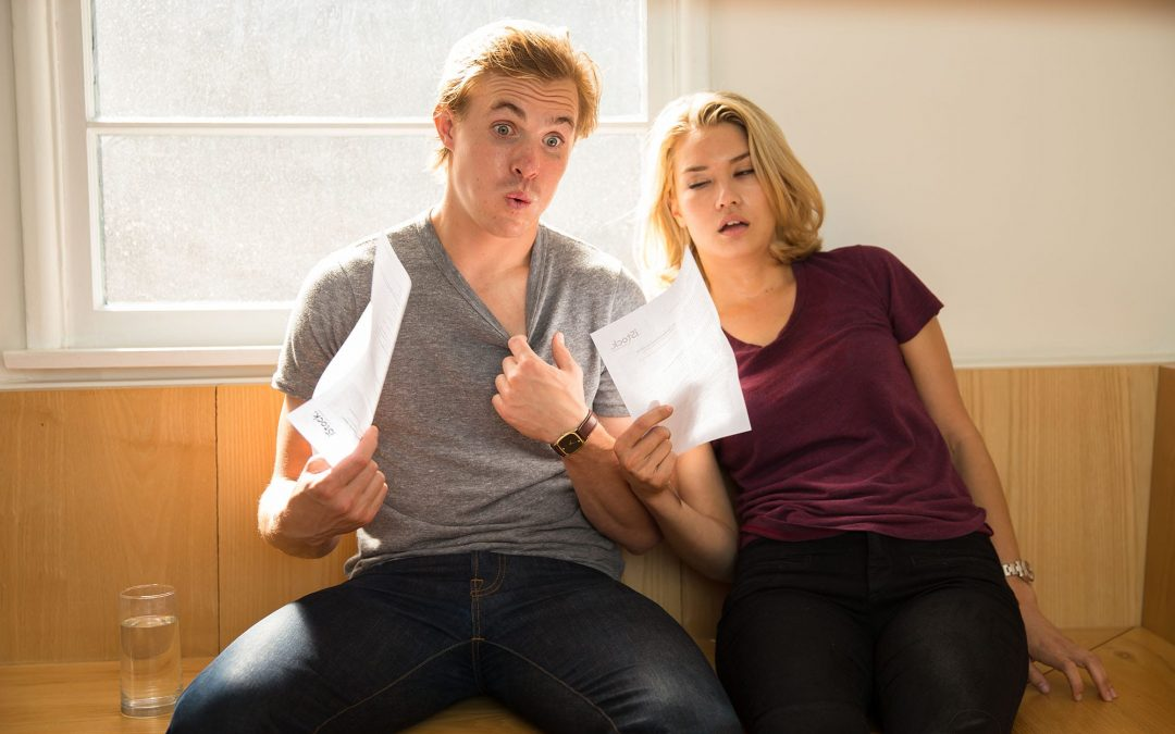 An air conditioner blowing hot air in the summer can make some couples reaching for the fan