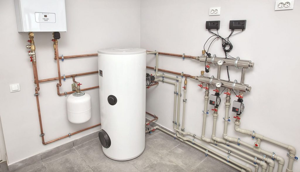 If you're seeing water under boiler issues, it's time to call a professional.