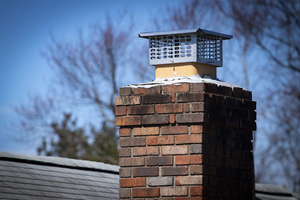 Learn how to stop a drafty chimney